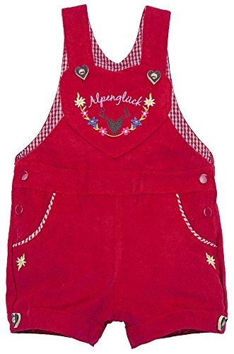 BONDI Trachten Latzshort, rot 92 Tracht Baby Mädchen Artikel-Nr.85615