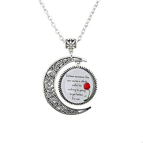 Lorax Truffula Baum 'sofern nicht' Zitat Halskette, Einzigartige Halskette Geschenk , Everyday Geschenk Halskette