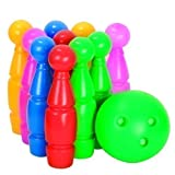 Bowling Set 10+1 29cm Kegelspiel Kegel Kugel Kinderbowling Bowlingspiel Kinder