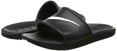 Nike Kawa Shower, Chanclas Hombre, Negro (Black/White), 42.5 EU
