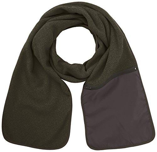 Ergebnis R100A Active Fleece Schal mit Reißverschluss Tasche, grau, one Size