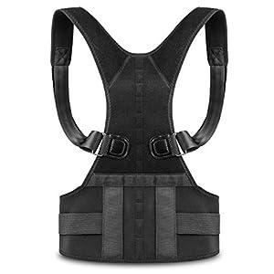 Lite-Dite Haltungstrainer, Geradehalter zur Haltungskorrektur für Eine Bessere Körperhaltung und Unterstützung des Rückens – Gegen Nacken -und Schulterschmerzen für Damen und Herren
