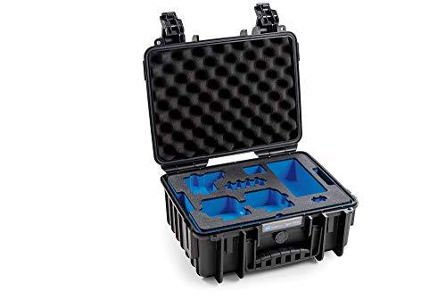B&W Outdoor.Cases Typ 3000 mit GoPro Hero 8 Inlay Koffer für bis zu 2 GoPro Hero 8 und viel Zubehör - Das Original
