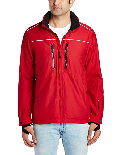 Wrangler Men's Jacket (8907222332198_WRJK1176_Small_Red)  available at amazon for Rs.2398