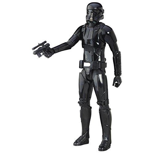 Hasbro Star Wars B9758El2 - E7 Ultimate Figuren - Imperial Death Trooper Actionfigur, 12 Zoll (Lichtschwert Für Action-figuren)