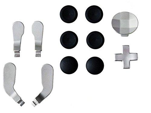 gotor® Thumbstick Mod Sticks Kit Thumb Caps pulsante SET per XBOX One Elite controller (4#) - Abxy Pulsanti