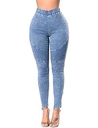 Jeans Femme Denim Pantalons Crayon Étendue Slim Sexy Jeans Push Up