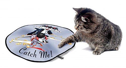elektronisches katzenspielzeug Europet Bernina 409-415337 Katzenspielzeug D&D Adventure Undercover-Mouse Fun, 60 cm