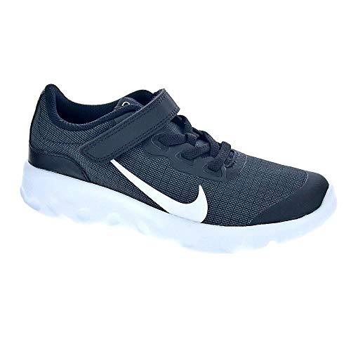 Black Kids Mokassin (Nike Nike Explore Strada (Psv) - black/white-anthracite, Größe:2.5Y)