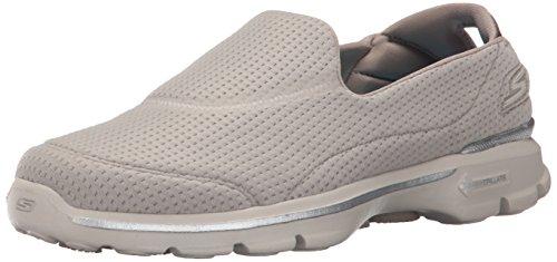 Skechers Go Walk 3 Unfold, Sneakers basses femme Beige (Tpe)
