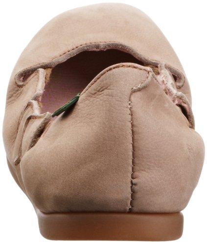 El Naturalista  Croche N961, Ballerine à bout fermé femme Beige