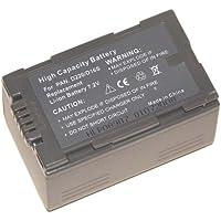 Troy Batterie Li-Ion de rechange pour caméscope Panasonic CGR-D08R/CGR-D120/CGR-D16/CGR-D220/CGP-D28/CGP-D320/CGP-D320A/1B/CGP-D28A/1B