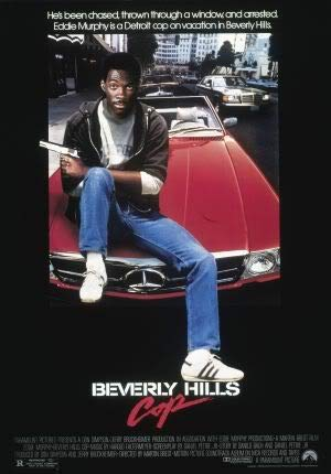 Beverly Hills COP - Eddie Murphy - Movie Wall Art Poster Print - 43cm x 61cm / 17 Inches x 24 Inches A2 Beverly 24