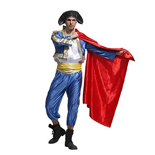 Baby Torero Kostüm - Halloween Adult Kostüm Kleider, Cosplay Kostüm Frau Rumba Herren Spanischer Stierkämpfer, Eine unvergessliche Halloween Nacht, 100% Polyester-2