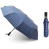 Paraguas Plegable + Abrir y Cerrar automático & teflón hídrofugo – A Prueba de Viento hasta