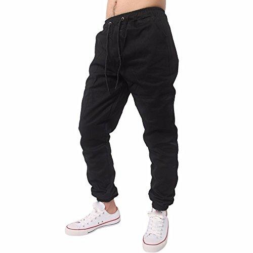 Elecenty Herren Schlabberhose, Männer Sportbekleidung Freizeithose Lange Leggings Trainingshose Jogginghose Sweatpants