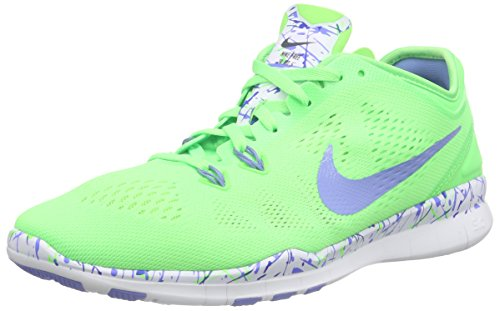 b6a21c0420949 Nike 704695-301 Women S Free 5 0 Tr Fit Training Shoe Print Voltage- Price  in India