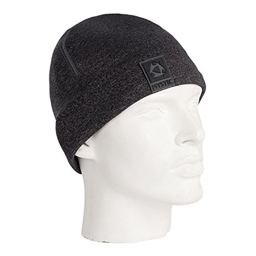 2018 Mystic 2mm Neoprene Beanie BLACK / GREY 180038 Size-- - Large/XLarge