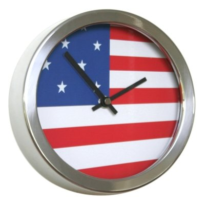 Abstrakte Flagge Uhren (18cm Durchmesser USA)