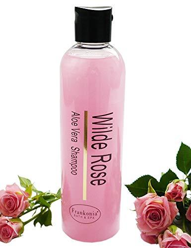 Wilde Rose Shampoo mit Aloe Vera, Pflegeshampoo 250 ml