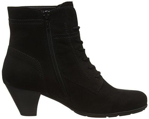 Gabor Shoes 55.6 Damen Kurzschaft Stiefel Schwarz (Schwarz 17)