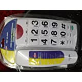 BIG DIGIT PHONE JUMBO BUTTONS ELDERLY POOR SIGHT AID