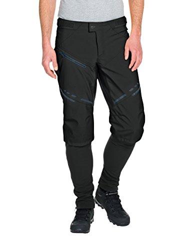 VAUDE Herren Hose Virt Softshell Pants II, Black, L, 05723