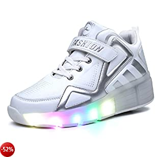 Grace con Unisex Rotelle Luckly it Led Scarpe SeguiPrezzi EqzAxYt