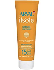Arval IlSole crema-gel Protection Visage/Corps SPF15 Gel solaire corps moyenne prot., solaire visage moyenne prot...