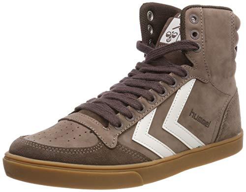 Hummel Unisex-Erwachsene Stadil Rubber Hohe Sneaker Braun (Chestnut 8309) 45 EU