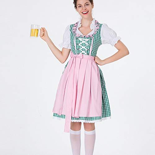 Billig Kostüm Toga - DAaomi Frauen Bier Festival Kleid Bayerisches Bier Festival Cosplay Kostüme