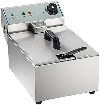 Royal Catering - RCEF-10EY-ECO - Freidora eléctrica - 1 x 10 Litros - 1 x 3.200 watt - ECO - Envío Gratuito