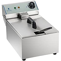 Royal Catering Freidora Electrica Profesional RCEF-10EY-ECO
