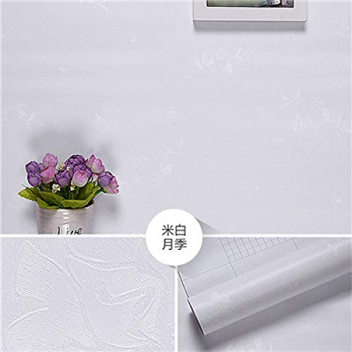 LZYMLG Tapete Für Kinderzimmer Baby Mädchen Jungen Schlafzimmer Dekor Tapeten Tv Hintergrund Tapeten Rolle Weiße Rose