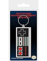 Pyramid International Nintendo NES controlador de goma llavero, multicolor, 4,5x 6cm