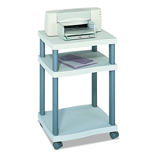 Wave Printer Stand in Grey