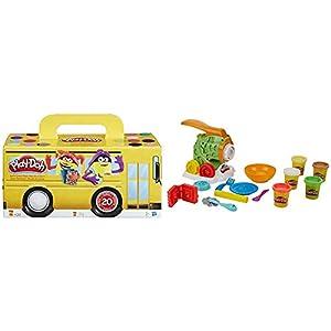 Play-Doh Pack 20 Botes (Hasbro A7924EU6) + PDH Core Fábrica de Pasta, Multicolor (Hasbro B9013EU4)