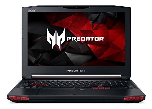 Acer Predator 15 39,62 cm (15,6 Zoll Full-HD IPS matt) Gaming Notebook (Intel Core i7-7700HQ, 16GB RAM, 512GB SSD + 1.000GB HDD, GeForce GTX 1070 8GB GDDR5 VRAM, Win 10 Home) schwarz