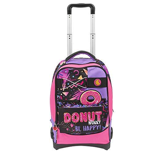 Giochi Preziosi Gopop 19 Zaino Trolley Click Donut Sacca, 54 cm, Multicolore