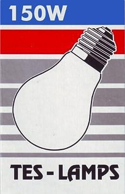 1x TESLAMP Glühlampe AGL / 150W / 230 V / E27 / klar von Teslamp - Lampenhans.de
