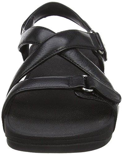 FitFlop Damen the Skinny Sandal, Schwarz Schwarz (Schwarz)