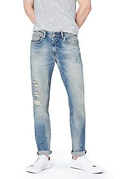 [Sponsorizzato]FIND Jeans a Sigaretta Uomo
