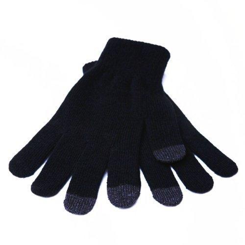 Touchscreen Smartphone Handschuhe schwarz Größe S/M iPhone Samsung Nokia AVVY