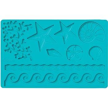 Wilton 0265756 Moule pour Fondant/Pastillage Mer 26,67 x 12,85 x 1,09 cm