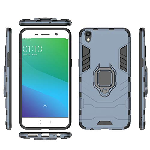 fitmore Oppo R9 Plus Hülle Slim Hülle [ Rückseite ] with Phone Case Slim Drop Protection for Oppo R9 Plus (Grey)