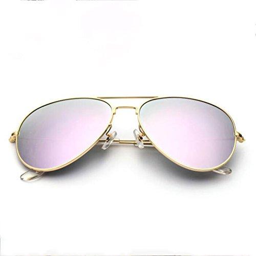 Sonnenbrille Männer Sonnenbrillen Männer und Frauen Polarisatoren Zustrom von Menschen Driving Lens Fahren Fahrer Sonnenbrillen Sonnenbrillen (Farbe : Bunt)