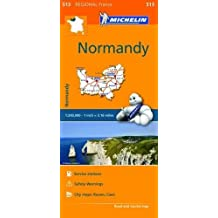 Normandy - Michelin Regional Map 513 (Michelin Regional Maps)