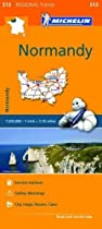 Normandy - Michelin Regional Map 513: Map (Michelin Regional Maps) Normandy - Michelin Regional Map 513