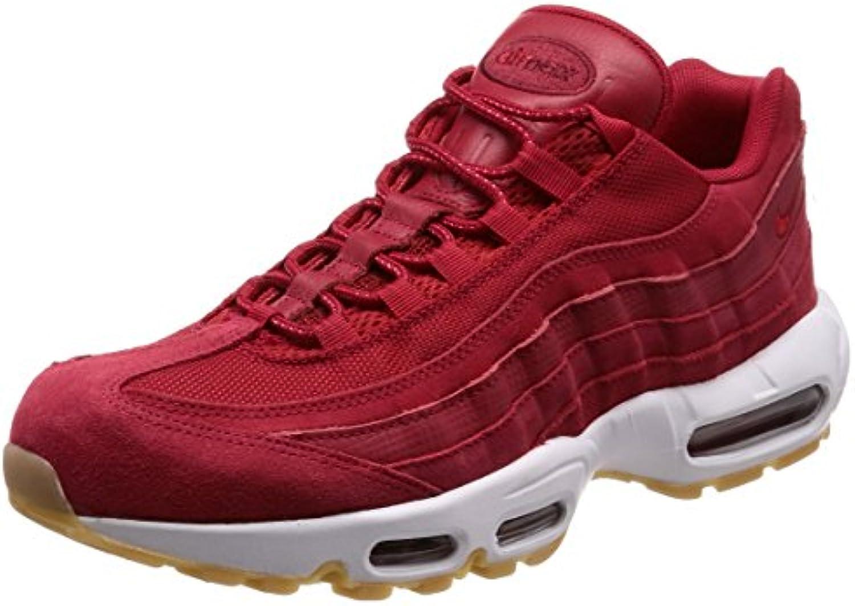 NIKE Air Max 95 Prm Mens Mens Mens scarpe Gym rosso Gym rosso Team rosso bianca 538416-602 (12 D(M) US) | modello di moda  884262