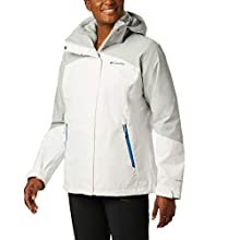 Columbia Fleece Jacket, Bugaboo II Giacca Interchange con Imbottitura Rimovibile Donna, White/Cirrus Grey, XL